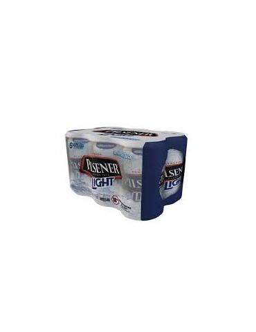 Six pack pilsener ligth lata